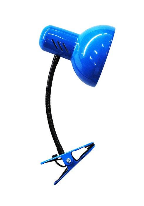 Настольная лампа Эир синего цвета