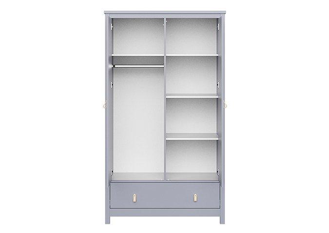 Шкаф Wood серого цвета