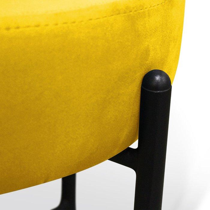Пуф Alioth желтого цвета
