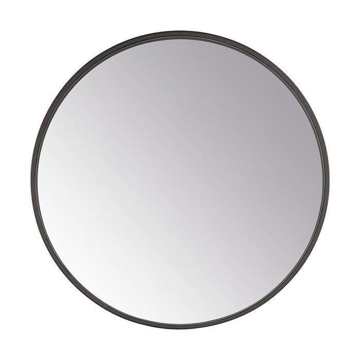 Зеркало настенное Орбита II в черной раме