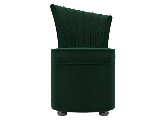 Пуф Ирис зеленого цвета