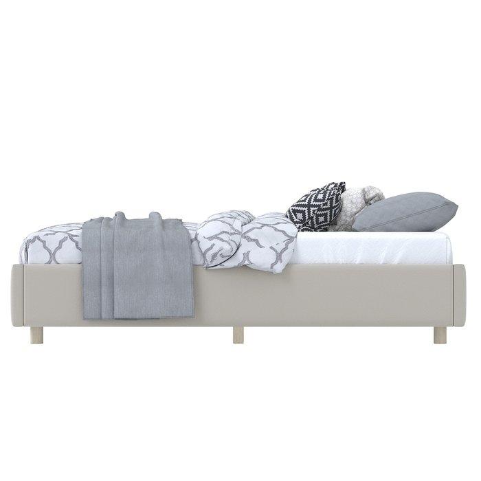 Кровать SleepBox 90x200 светло-бежевого цвета