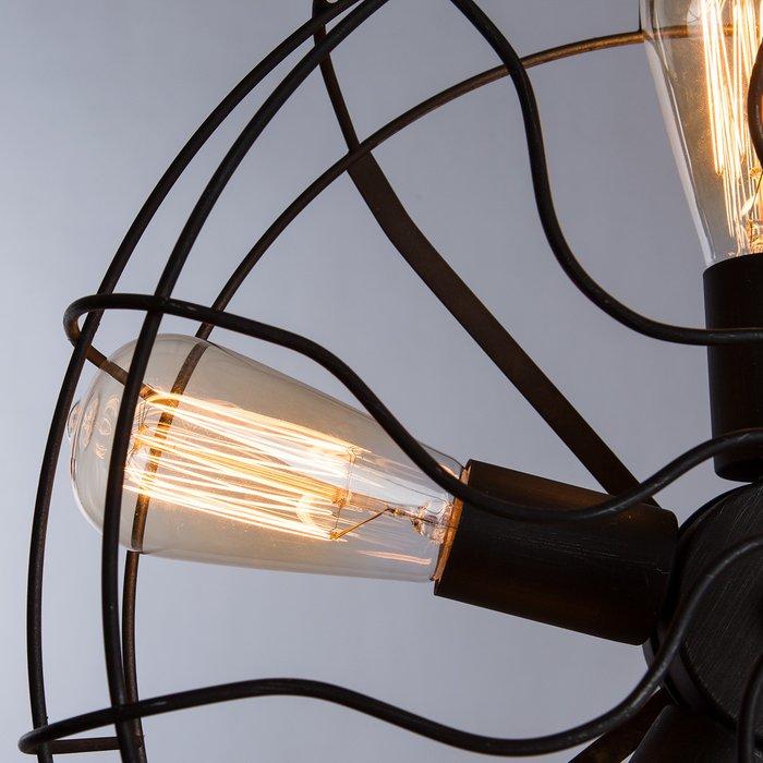 Настольная Лампа Cottero черного цвета