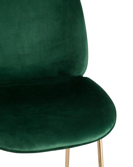 Стул барный Beetle зеленого цвета