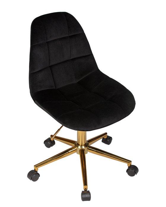 Офисное кресло для персонала Diana черного цвета