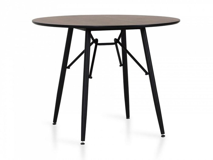 Обеденный стол Tootsy со столешницей темно-коричневого цвета
