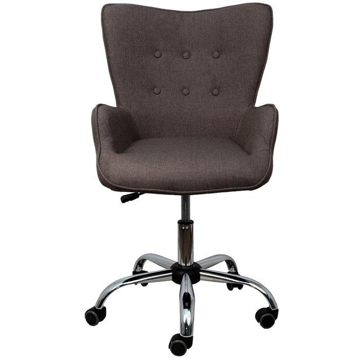 Компьютерное кресло Bella коричнево-серого цвета