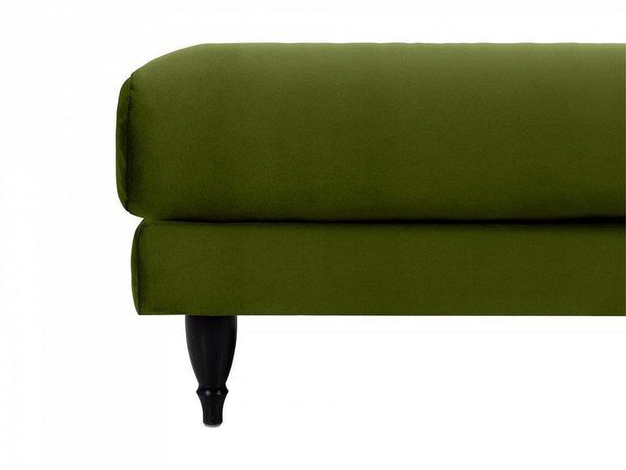 Пуф Italia зеленого цвета