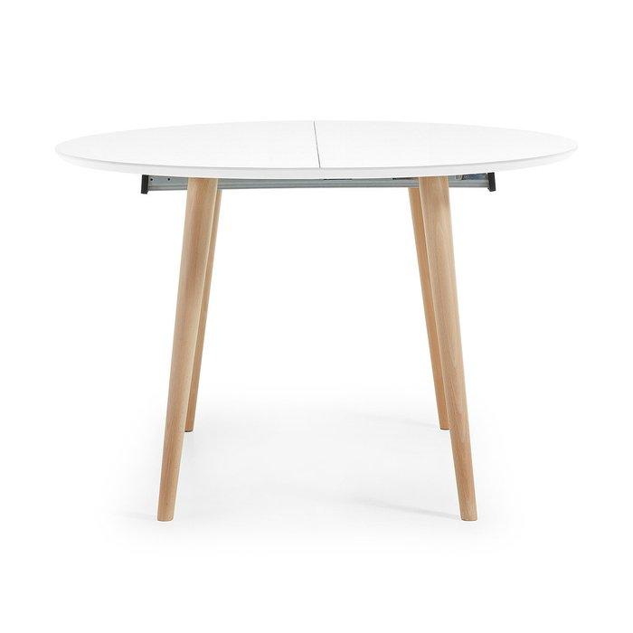 Обеденный стол Oakland с белой столешницей