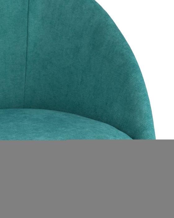 Стул Квини сине-зеленого цвета