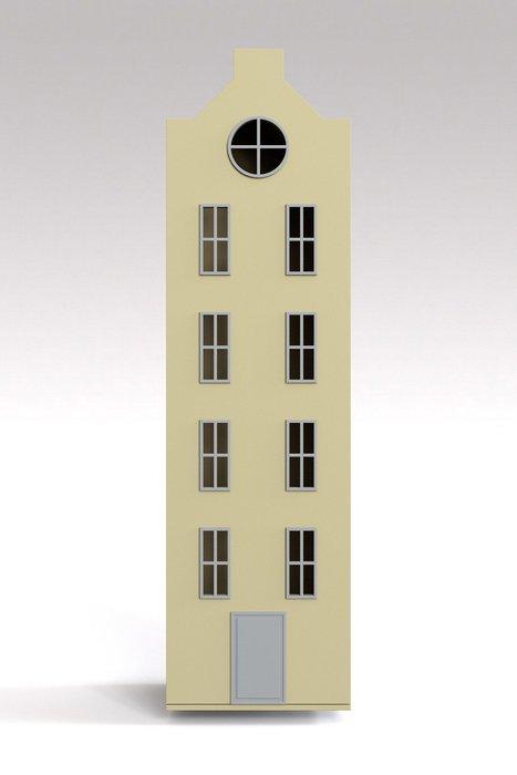 Шкаф-домик Вильнюс Maxi сливочного цвета