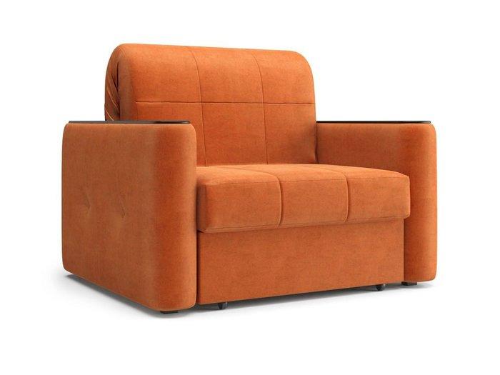 Кресло-кровать Ницца оранжевого цвета