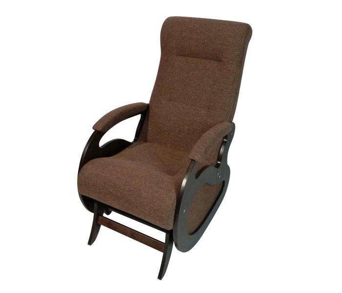Кресло-качалка Маятник темно-коричневого цвета