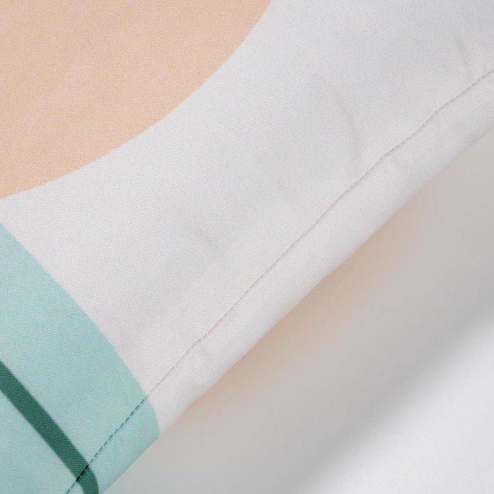 Чехол для подушки Glendale с бежевым кругом 45x45