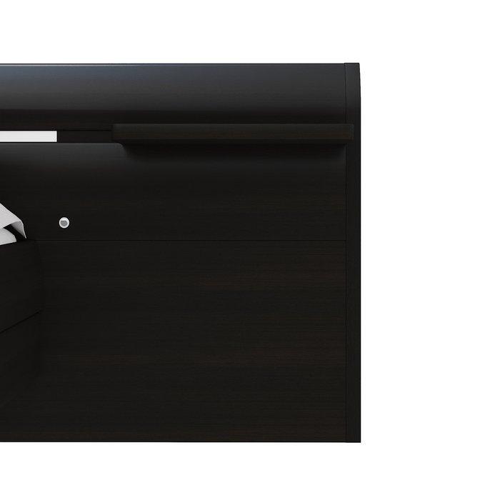Кровать Илона 180х200 темно-коричневого цвета