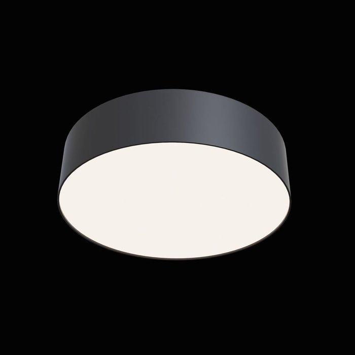 Потолочный светильник Zon черно-белого цвета