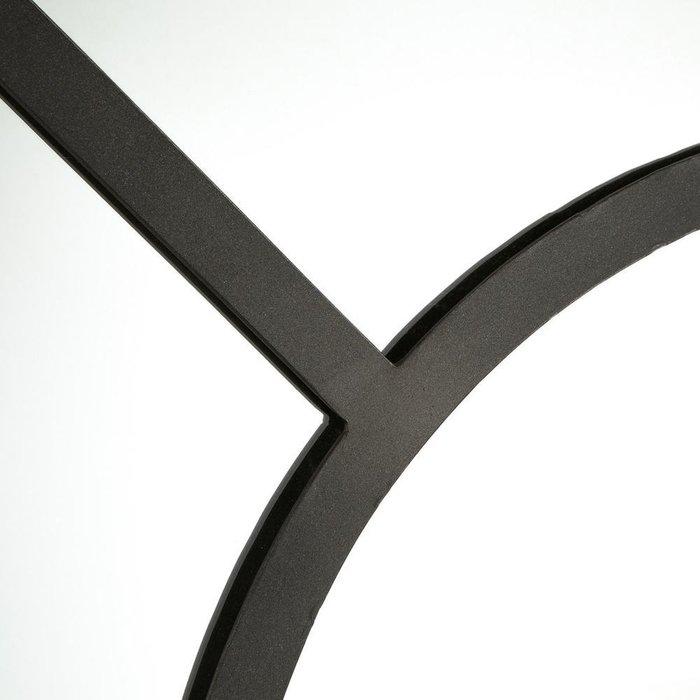 Настенное зеркало Lenaig в раме темно-серого цвета