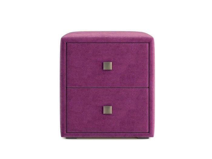Тумбочка Агат фиолетового цвета