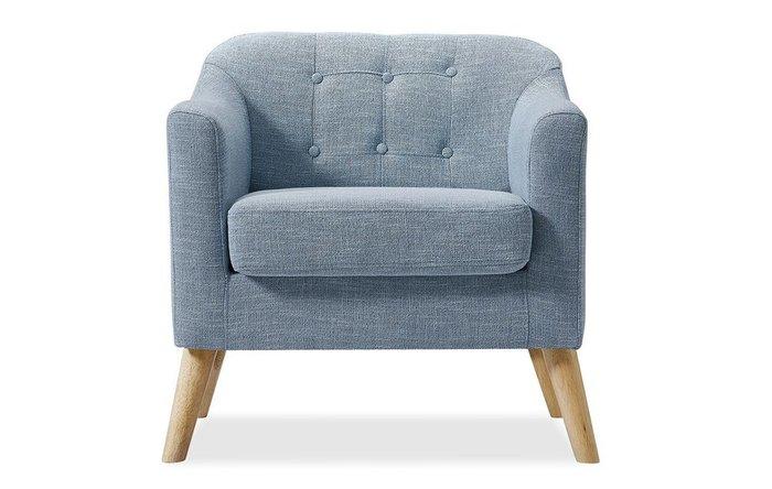 Кресло Jazz голубого цвета