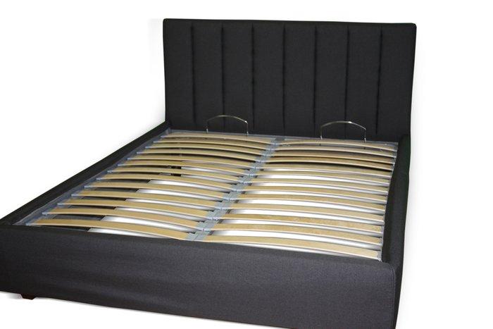 Кровать Клэр 160х200 черного цвета