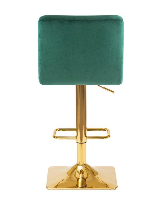 Стул барный Goldie зеленого цвета