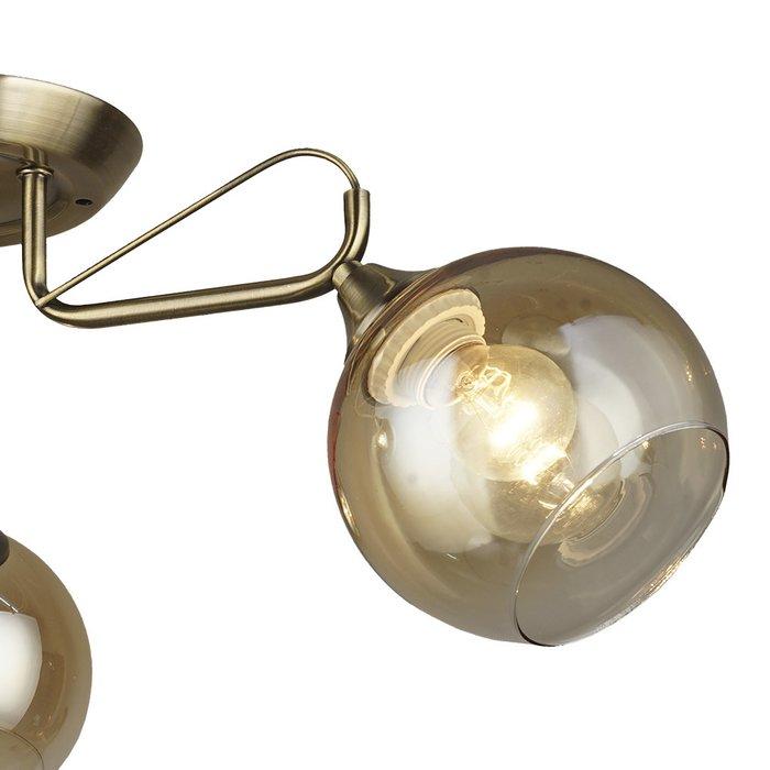 Потолочная люстра Levern с плафонами цвета шампань