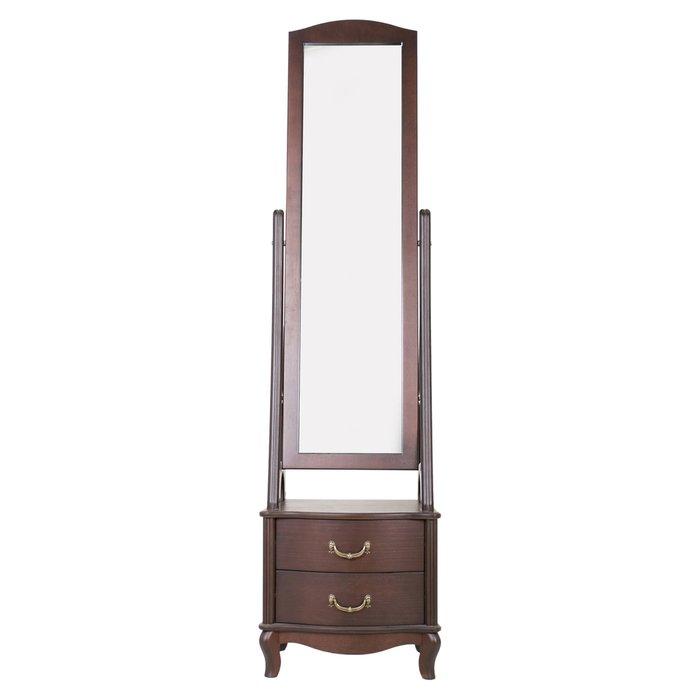 Зеркало напольное Джульетта цвета орех