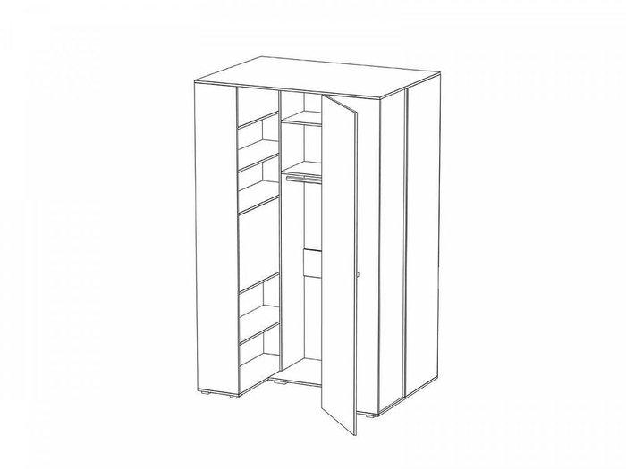 Шкаф-гардероб Play со светодиодным светильником