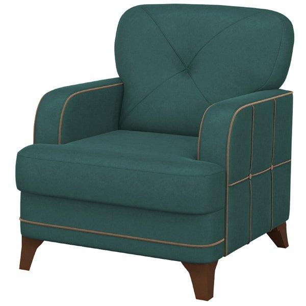 Кресло Черри бирюзового цвета
