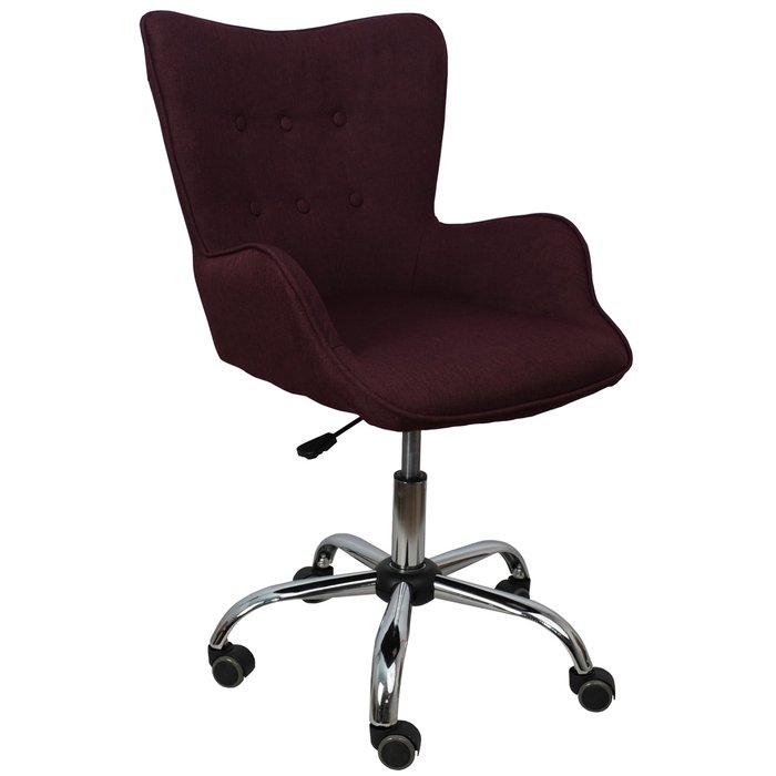 Компьютерное кресло Bella бордового цвета