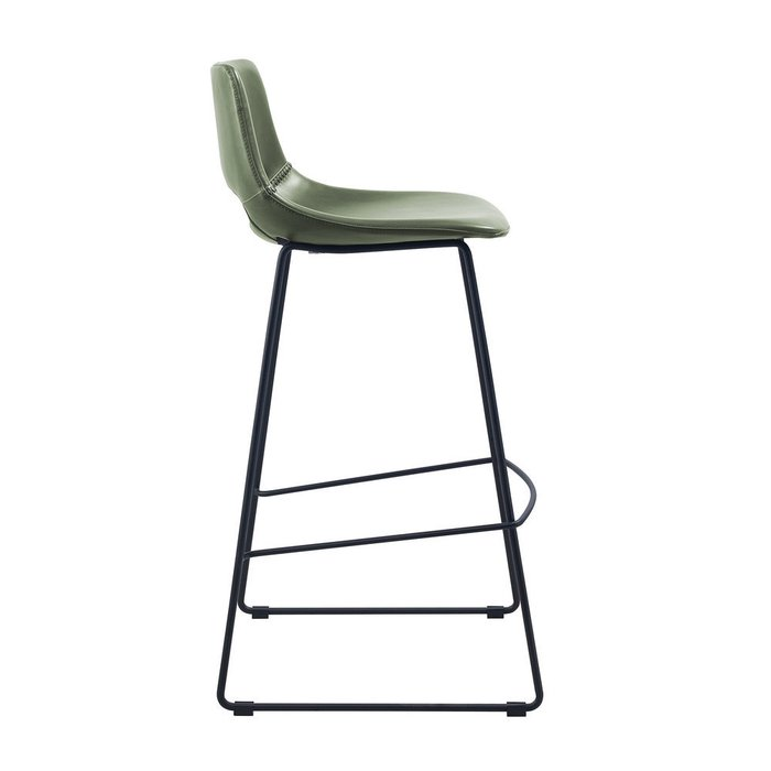 Барный стул Ziegler зеленого цвета