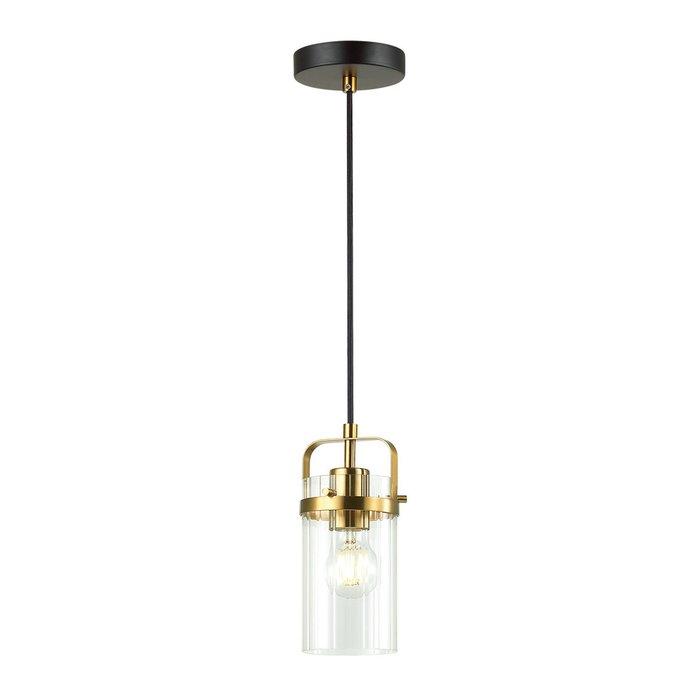 Подвесной светильник Kovis из металла и стекла