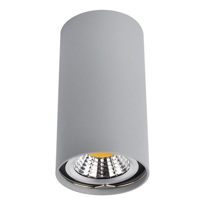 Потолочный светильник серого цвета