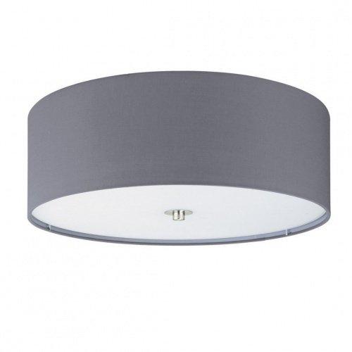 Потолочный светильник Pasteri серого цвета