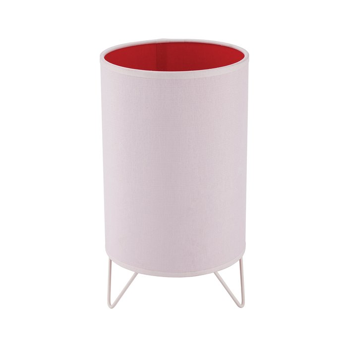 Настольная лампа  Relax Junior бело-розового цвета