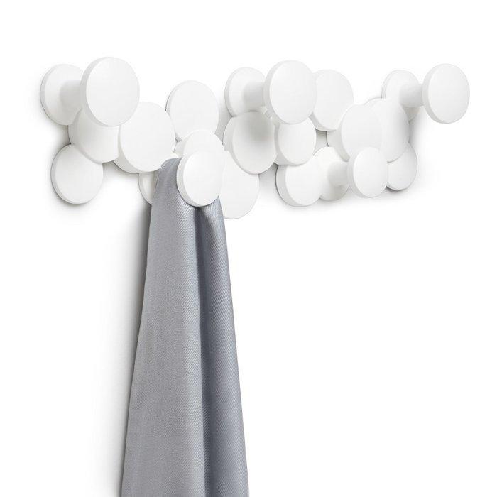 Вешалка настенная bubble hook, белая