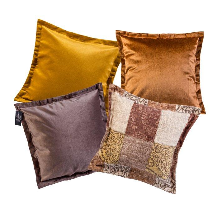 Комплект чехлов для подушек Anis Liberica Umber из полиэстера