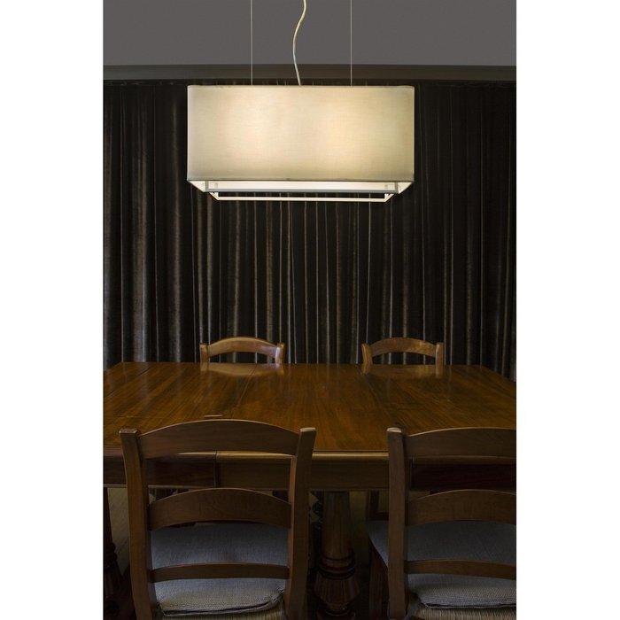 Подвесной светильник Vesper белого цвета