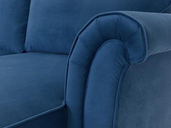 Угловой диван-кровать Sydney синего цвета