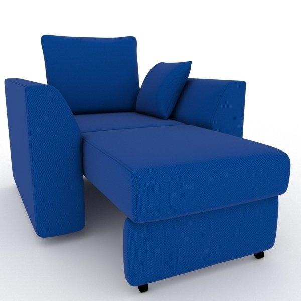 Кресло-кровать Belfest синего цвета