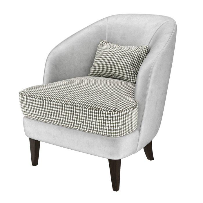 Кресло Ruta черно-серого цвета