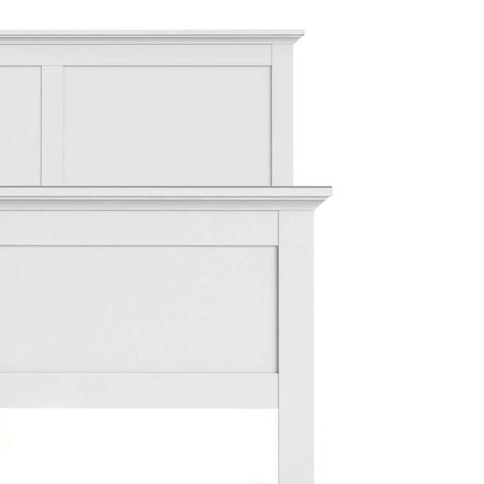 Кровать Paris белого цвета 160х200