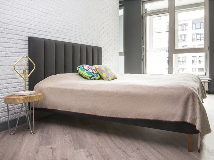Кровать Клэр 160х200 розового цвета