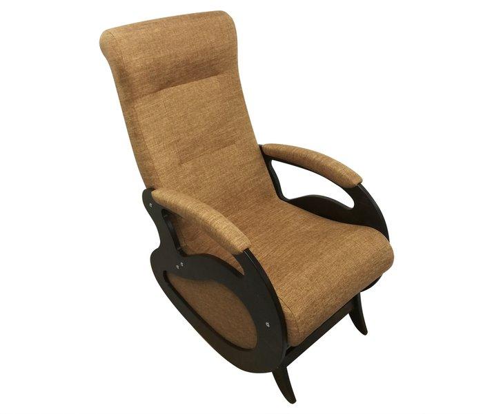 Кресло-качалка Маятник светло-коричневого цвета