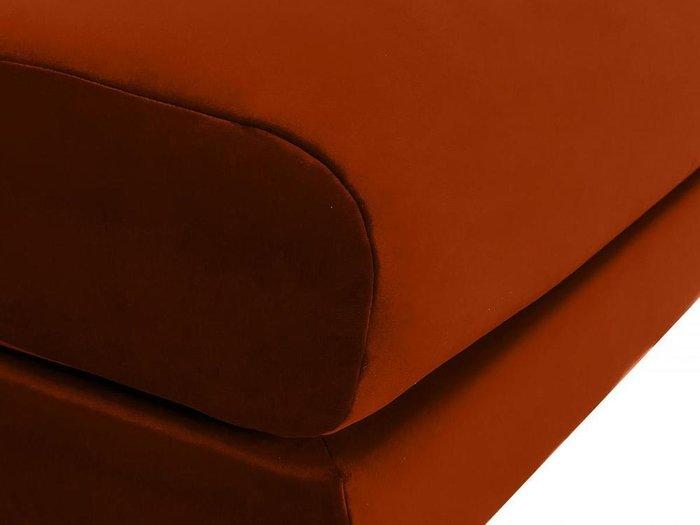 Пуф Italia красно-коричневого цвета