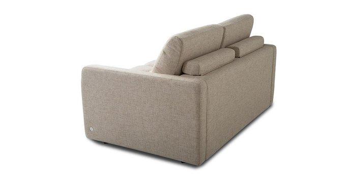 Прямой диван-кровать Бруно бежевого цвета