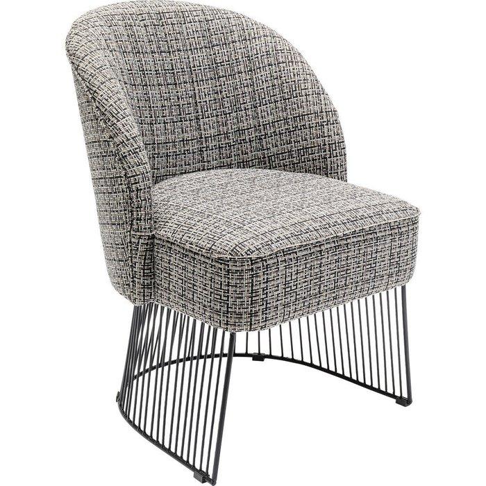 Кресло Iceland серого цвета