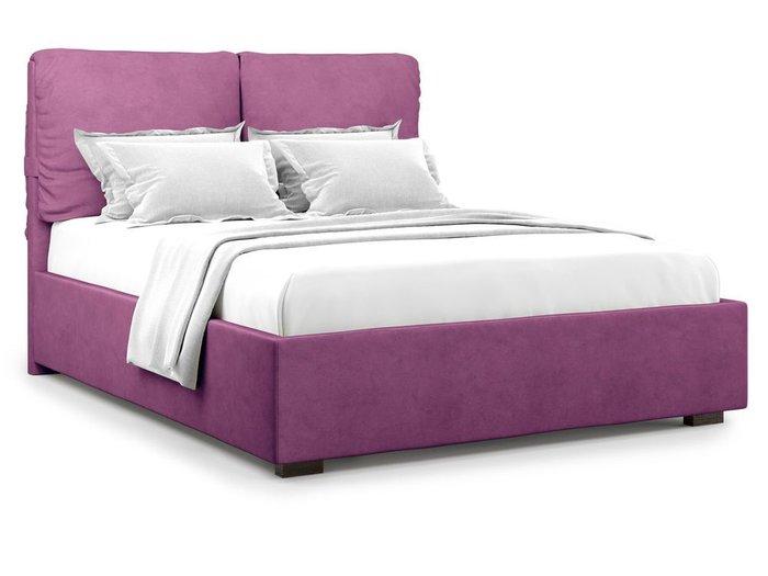 Кровать Trazimeno 180х200 фиолетового цвета
