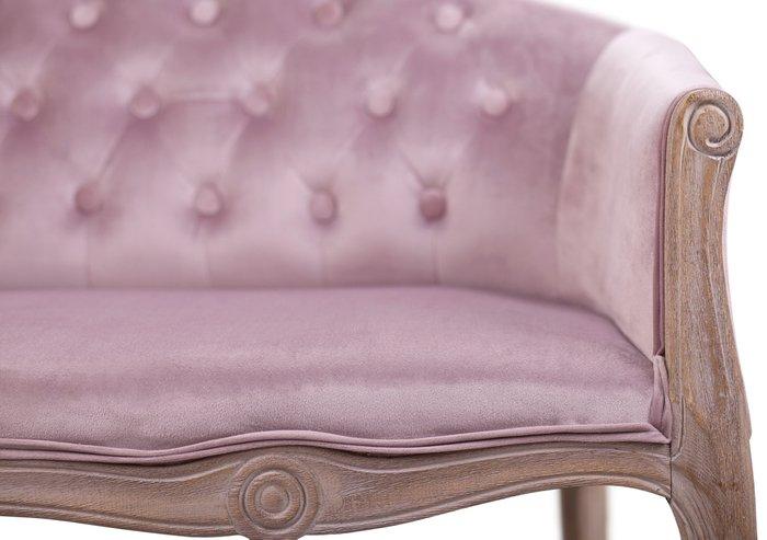 Диван Kandy double pink velvet розового цвета