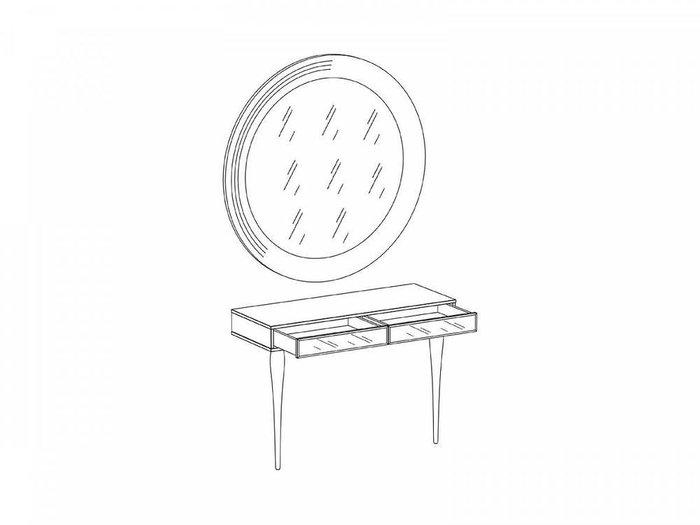 Туалетный столик с зеркалом Cloud